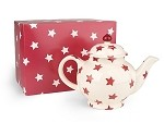 Red Star Teapot, 4 Cup Retired