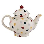Polka Hearts Teapot-RETIRED