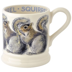 Grey Squirrel 1/2 Pint Mug