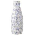Lavender Daisy Large Milk Bottle
