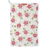 Rose and Bee Tea Towel