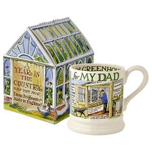 Year in the Country Dad 1/2 Pint Mug Boxed