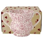 Pink Wallpaper 2-Handled Vase