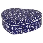 Big Love Blue Heart Tin