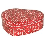 Big Love Red Heart TIn