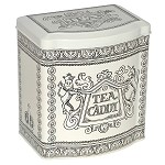 Black Toast and Marmalade Bow Front Tea Caddy