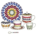 Flowers Melamine Dollies Tea Set