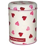 Pink Hearts Round Caddy