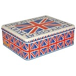 Union Jack Rectangular Tin XL