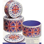 Union Jack Cake Tins Set/3