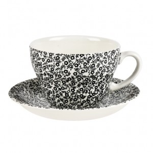 Black Felicity Breakfast Cup & Saucer