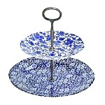 Blue Calico & Arden 2 Tiered Cake Stand