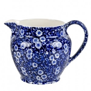 Blue Calico Dutch Jug Large