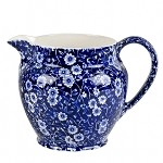Blue Calico Dutch Jug Medium - Retired