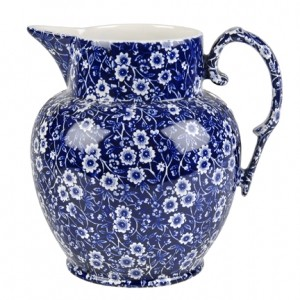 Blue Calico Etruscan Large Jug