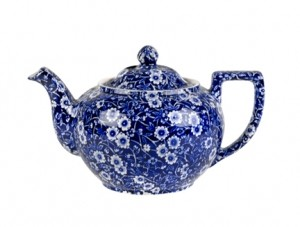 Blue Calico Small Teapot