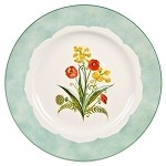 Coronation Meadow Tea Plate Poppy