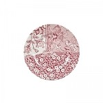 "Engravers Collection Pink Accent 7"" Plate"