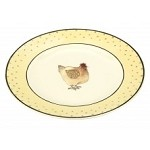 Highgrove Hens Plate Dinner Fat