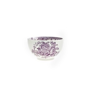 Plum Asiatic Pheasant Large Sugar Bowl