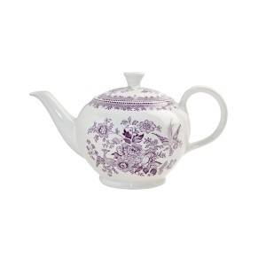 Plum Asiatic Pheasant Large Teapot