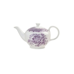 Plum Asiatic Pheasant Small Teapot