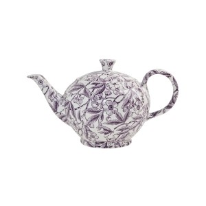 Plum Prunus Large Teapot