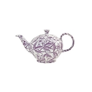 Plum Prunus Small Teapot
