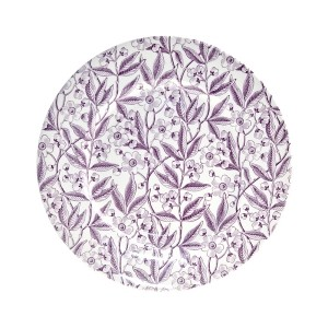 Plum Prunus Decorative Dinner Plate