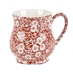 Red Calico Sandringham Mug