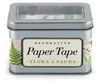Paper Tape Flora and Fauna set/5 Rolls