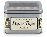 Paper Tape Paris set/5 Rolls