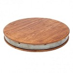 Wiine Barrel Lazy Susan