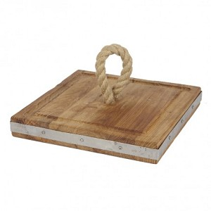 Square Rope Cheeseboard