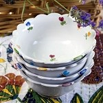 Mille Fleurs Small Bowl