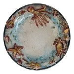 Michelangelo Sea Life Wall Plate