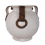 Fortunata Americana Vase with Three Handles