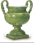 Antica Firenze Verde Roberto Footed Bowl