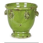 Antica Firenze Verde Vase with Fruit