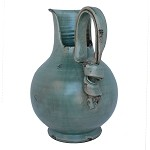 Arno Silvery Wine Carafe