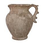 Pietra Small Pitcher with Leaf Handles