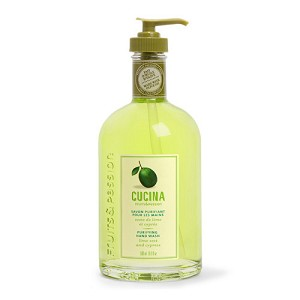 Cucina Purifying Hand Wash Lime Zest and Cypress w/Olive Oil