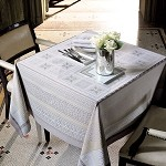 Antique Terre Tablecloth and Napkins
