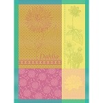 Dahlia Citrus Kitchen Towel