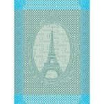 Eiffel Vintage Celedon Kitchen Towel