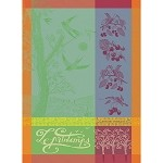 Le Printemps Azalee Kitchen Towel