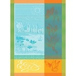 L' Ete' Turquoise Kitchen Towel