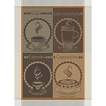Tasses De Cafe Moka Kitchen Towel