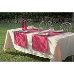 Mille Charmes Ecru de Blanc Tablecloth and Accessories New 2016