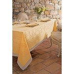 Soubise Jaune d'Or Table Linens- Green Sweet New 2016